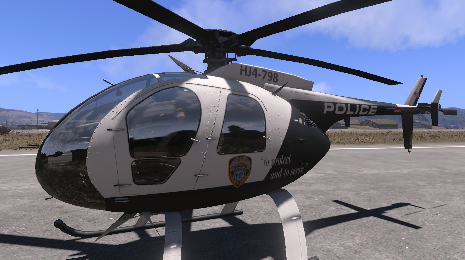 Arma 3 Elicottero : Police mod von demian v addon pack