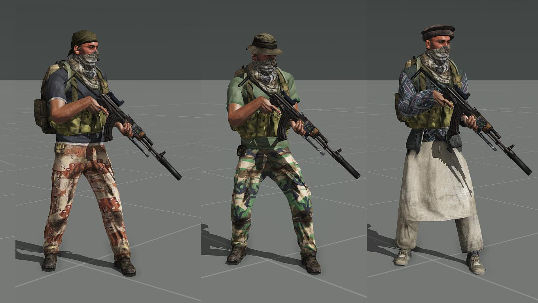 how to make arma 3 clothes