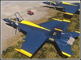 Blue Angels Fictional Super Hornet [Flugzeuge]