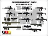 German Weapon Pack A3 von Marseille77