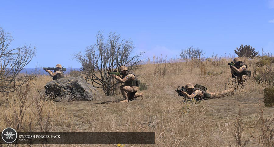 Swedish Forces Pack vom Swedish Forces Mod Team v068 Update
